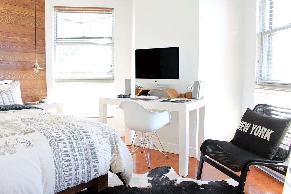 Le réaménagement des chambres